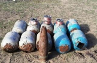 500 kilo bomba ele geçirildi
