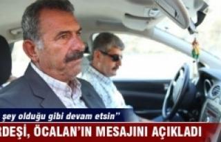 Abdullah Öcalan'ı ziyaret eden Mehmet Öcalan'dan...