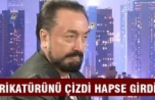 Adnan Oktar'a hakaret eden karikatürist cezaevine...