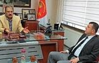Ağbaba'dan Mesob Başkanı Keskin'e Ziyaret
