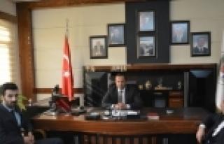 Ak Gençlerden Başkan Toltar'a Ziyaret