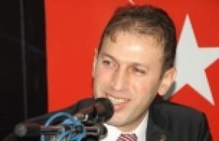 AK PARTİ İL BAŞKANI ÇALAPKULU TEBRİKLERİ KABUL...