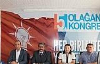 Ak Parti Kumluca İlçe Teşkilatı Kongresi 14 Kasım'da