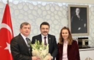 Ak Parti Trabzon İl Başkanı Haydar Revi Ziyaretlerini...