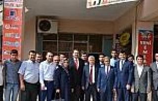 Ak Partili Yurttaş'tan Kırkağaç'a Ziyaret