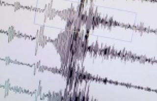 Akdeniz'de bir deprem daha