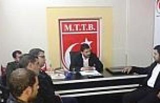 Akıncılar Derneği'nden Mttb'ye Ziyaret