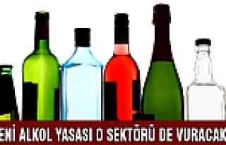 Alkol yasağı o sektörü de vuracak!