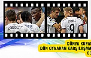 Almanya - Cezayir maçının golleri / TIKLA İZLE