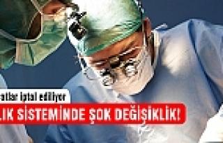 Ameliyatlar iptal!