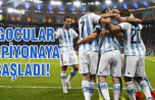 Arjantin-Bosna Hersek maç özeti