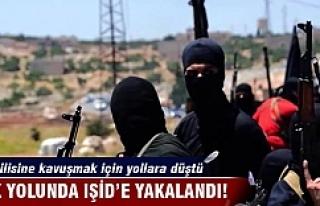 Aşk yolunda IŞİD'e yakalandı