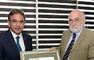 Atso Başkanı Budak, Sırbistan Büyükelçisi Vucetic'i...