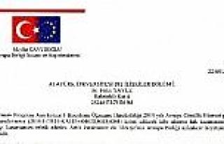 Avrupa Birliği Bakanlığı'ndan A.ü. Dış İlişkiler...