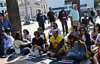 Ayvalık'ta Işid Protestoları Sürüyor