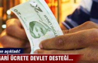 Bakan açıkladı! Asgari ücrete devlet desteği...