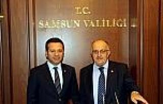 Bakan Yardımcısı Baş, Vali Aksoy'u Ziyaret Etti