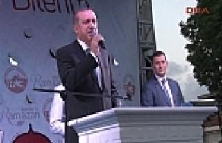 Başbakan: 'Zulümler bitsin'