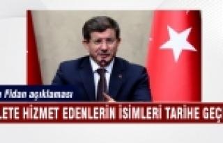 Başbakan'dan Hakan Fidan açıklaması