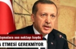 Başbakan'ın Köşk adaylığı için istifa etmesi...