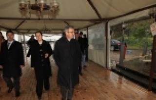 BAŞKAN KÖŞKER ESKİHİSAR'DA İNCELEMELERDE BULUNDU