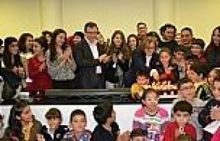 Başkan Şahin, Çocuk Korusu Çalişmalarini İzledi