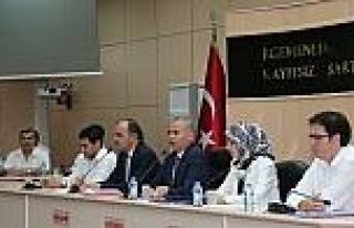 Başkan Zolan, Pamukkale Belediye Meclisi'ni Ziyaret...