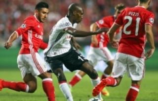 Benfica 1-1 Beşiktaş (Benfica, Beşiktaş maç özeti)