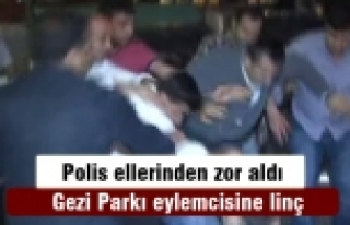 Beşiktaş'ta esnaftan müşteriye linç