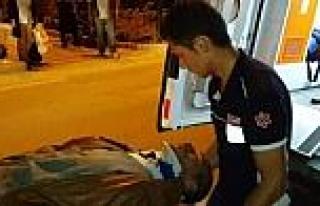 Bilecik'te Otomobille Motosiklet Çarpişti: 1 Yaralı