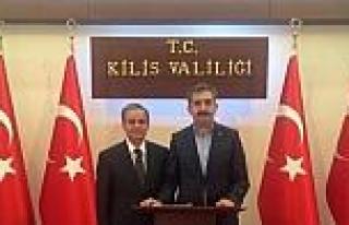 Bolu Valisi Ahmet Zahteroğulları'ndan Vali Tapsız'a...
