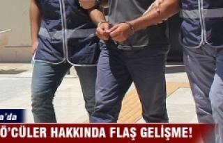 Bursa'da 16 kişi FETÖ'de adliyeye sevk...