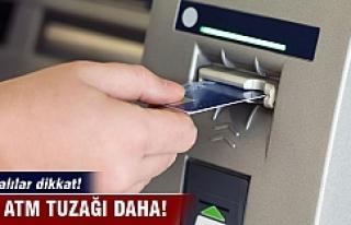 Bursa'da ATM'ye kurdukları düzenekle kartları...