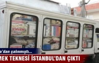 Bursa'da çalınan ekmek teknesi İstanbul'da...