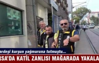 Bursa'da kardeşlere kurşun yağdıran katil...