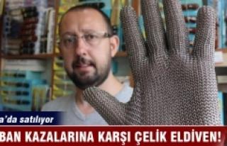 Bursa'da kurban kazalarına karşı çelik eldiven