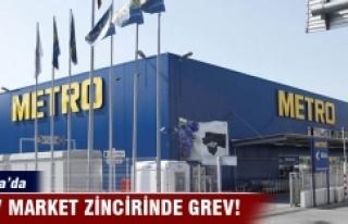 Bursa'da Metro işçisi grev kararı aldı