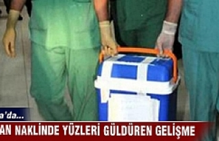 Bursa'da organ naklinde yüzleri güldüren gelişme