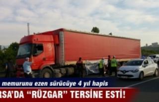 "Bursa'da ""Rüzgar"" tersine esti"