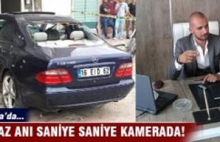 Bursa'da saniye saniye infaz!