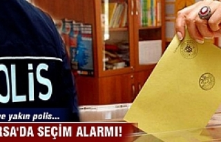 Bursa'da seçim alarmı!