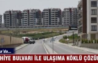 Bursa'da Sıhhiye Bulvarı ile ulaşıma köklü...