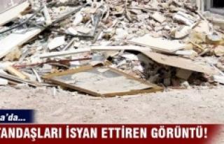 Bursa'da vatandaşları isyan ettiren görüntü!