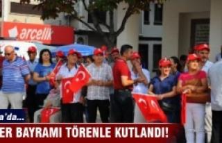 Bursa'da Zafer Bayramı törenle kutlandı