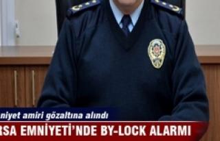 Bursa Emniyeti'nde By-Lock alarmı
