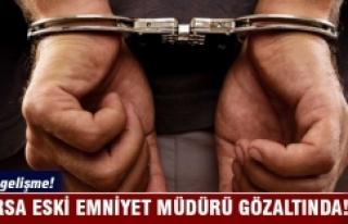 Bursa eski emniyet müdürü Halil İbrahim Doğan...