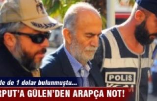 Bursa eski valisi Harput'a Gülen'den Arapça...