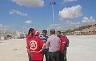 Bursa İhh, Suriye Sınırında Görev Yapacak Arama...