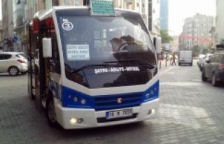 Bursa'nın o ilçesinde yeni minibüs hattı...
