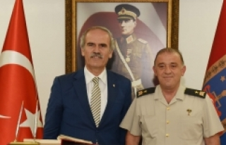 Bursa'nın yeni Jandarma Komutanı göreve başladı